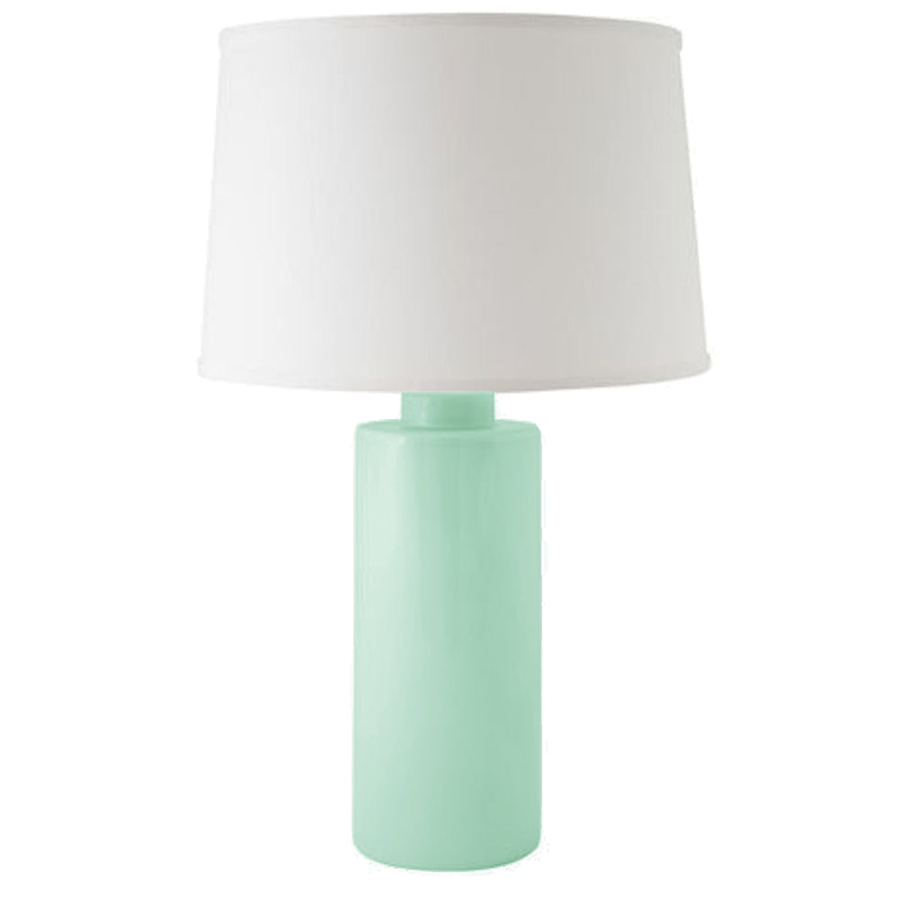 Sea Glass Green Solid Column Lamp