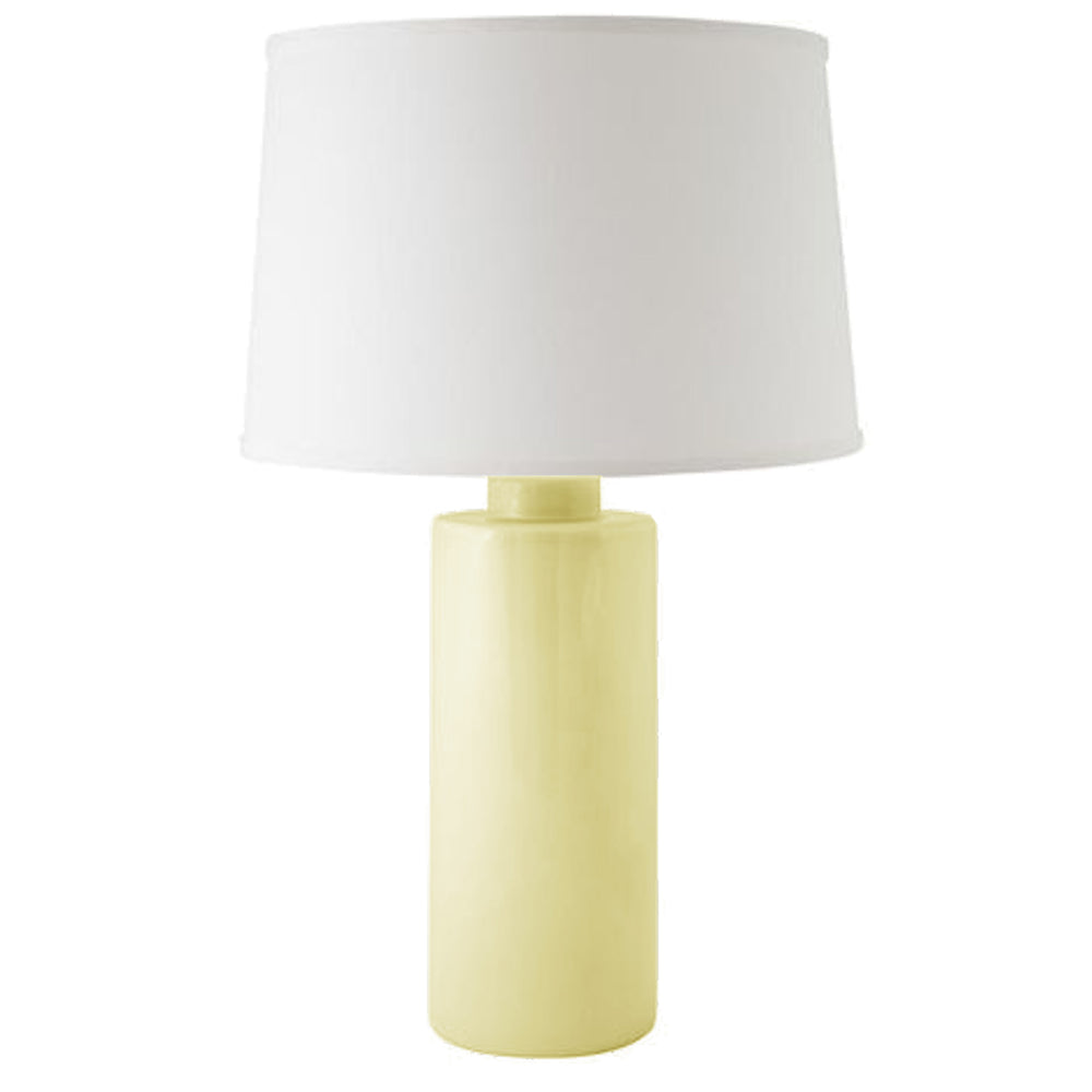 Lemon Sorbet Solid Column Lamp