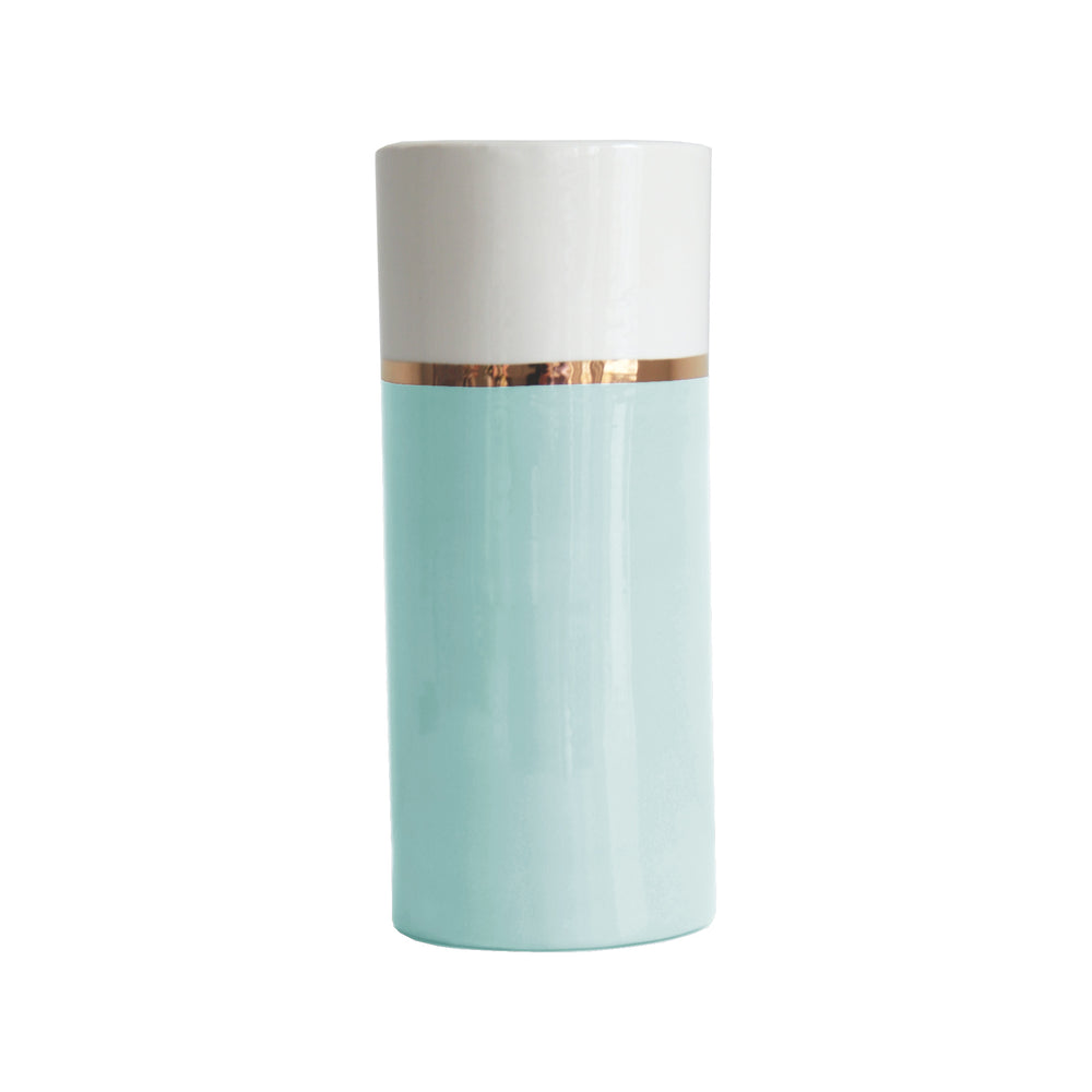Color Block Column Vase