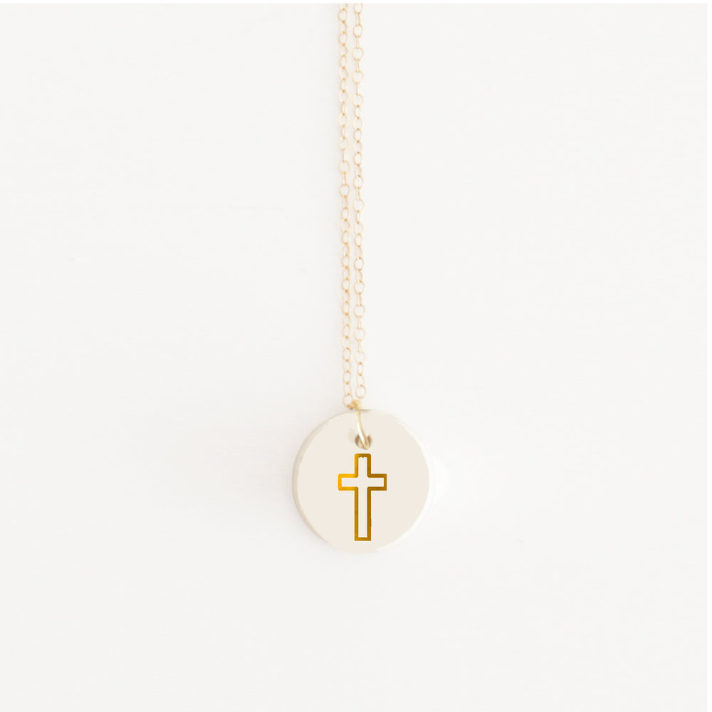 """For God so Loved"" Pendant Necklace"