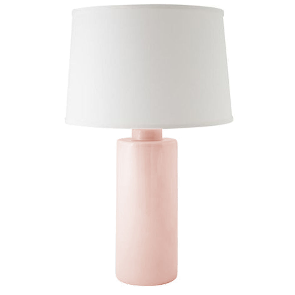 Blush Solid Column Lamp