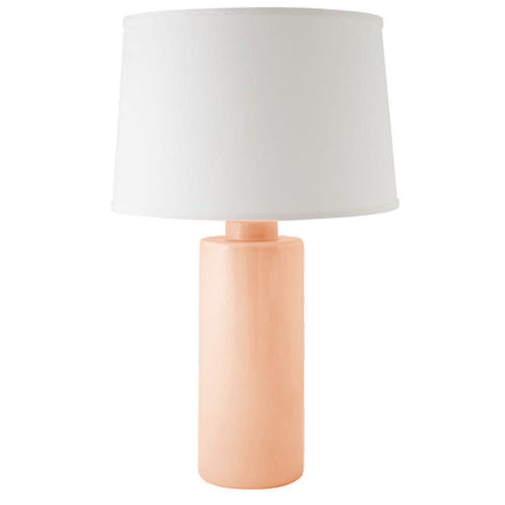 Coral Solid Column Lamp