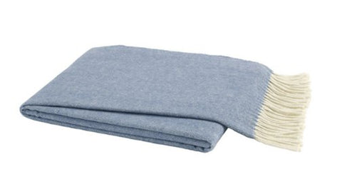 French Blue Throw Blanket - Lo Home