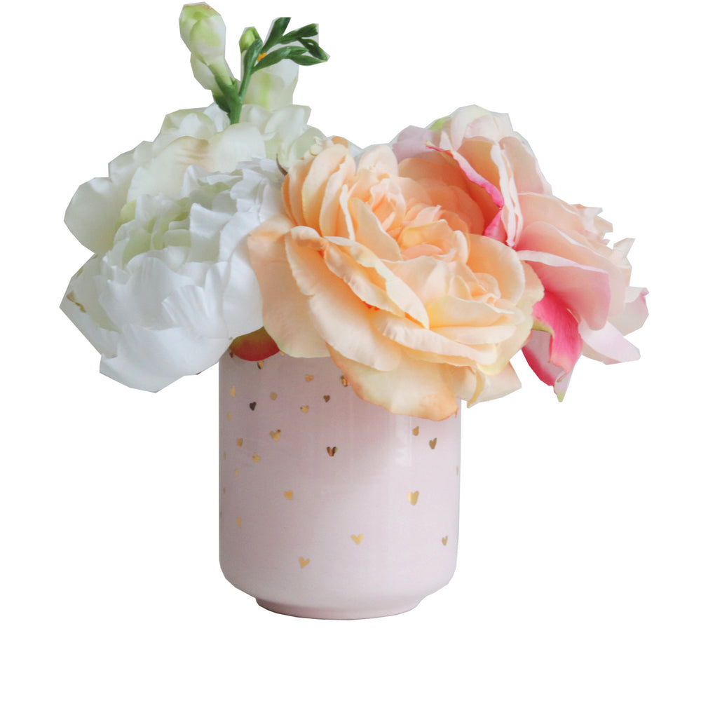 Limited Edition Confetti Hearts Vase