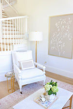 "Banyon Lounge Chair in ""Stain Resistant Ivory"""