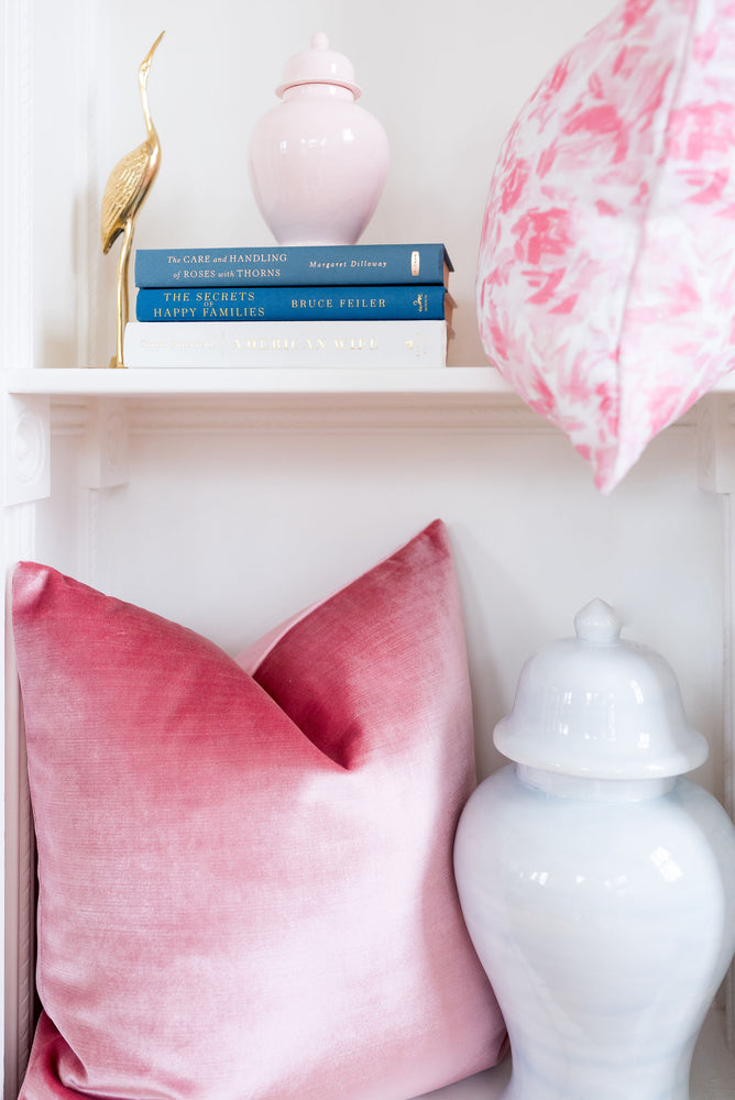 """Floralie"" by Lo Home x Taelor Fisher in Pink"