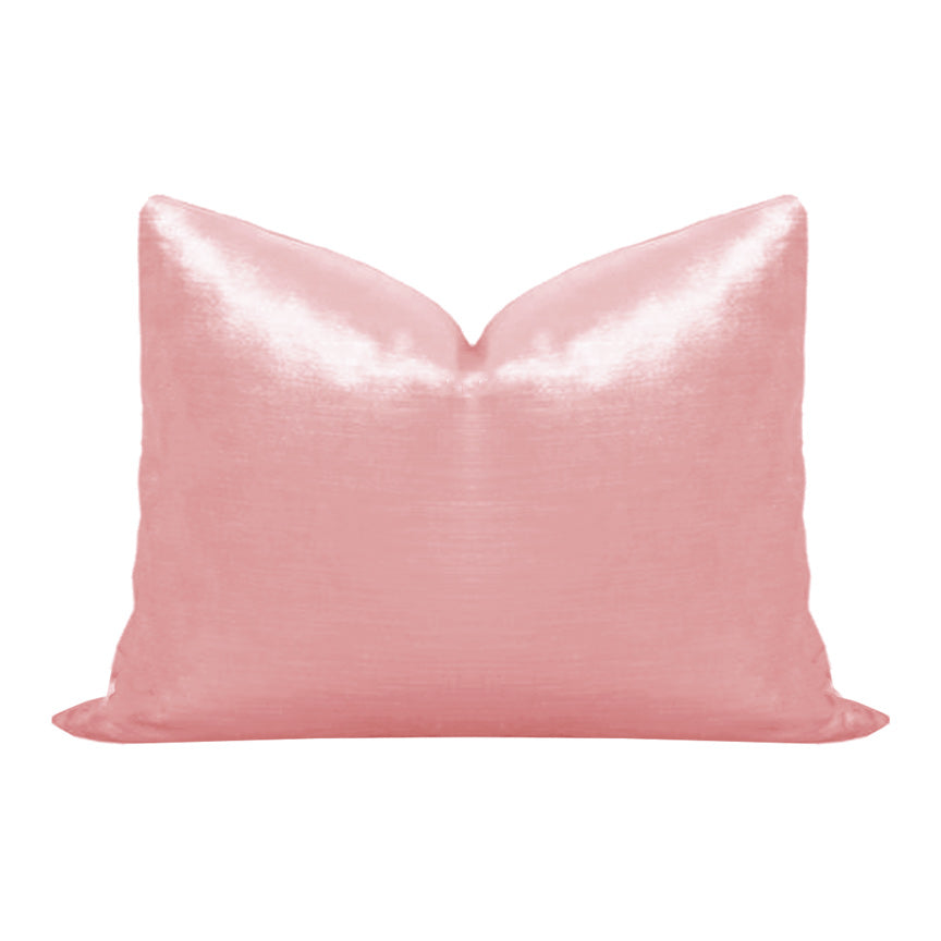 Cherry Blossom Pink Velvet Pillow