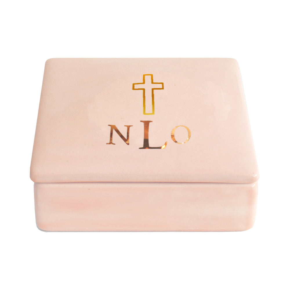 Baptism/ First Communion Keepsake Monogrammed Box