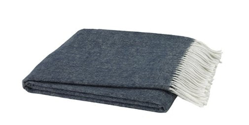Navy Throw Blanket - Lo Home