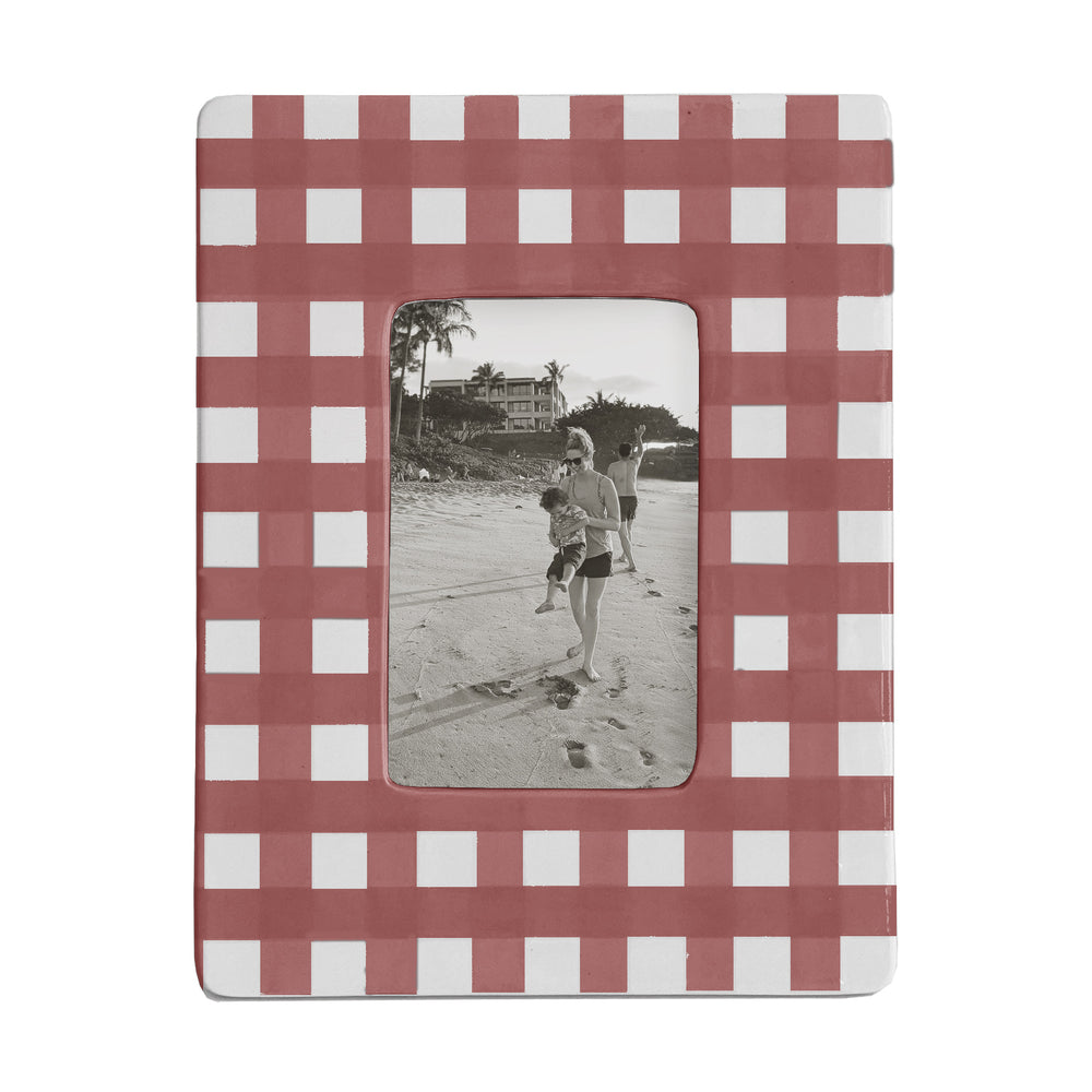 Gingham Photo Frame
