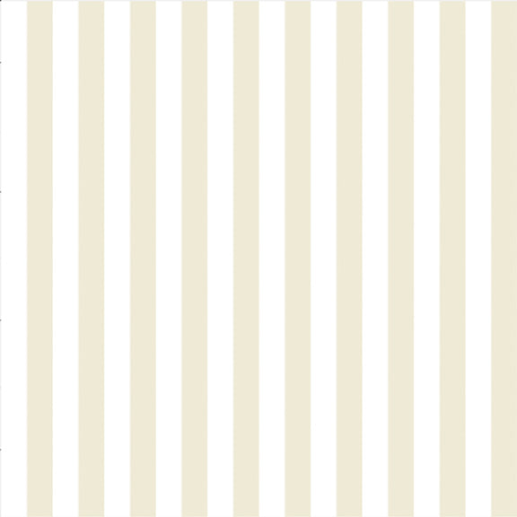 """The Perfect Stripe"" Wallpaper in Beige"