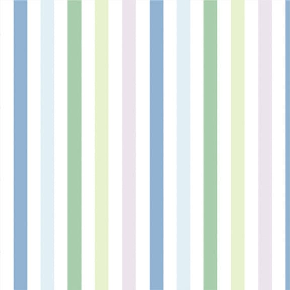 """The Perfect Stripe"" Wallpaper in ""Nantucket"""
