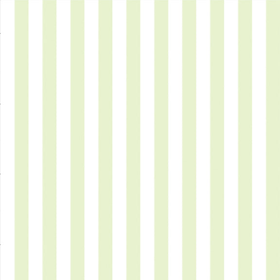 """The Perfect Stripe Wallpaper"" in Light Chartreuse Green"