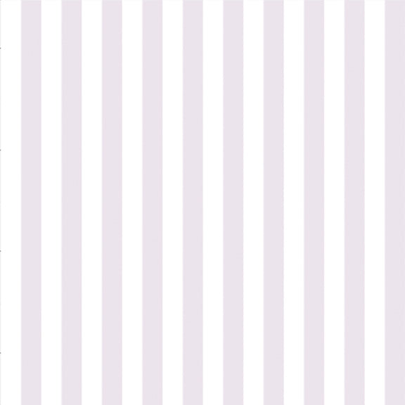 """The Perfect Stripe"" Wallpaper in Lilac Purple"