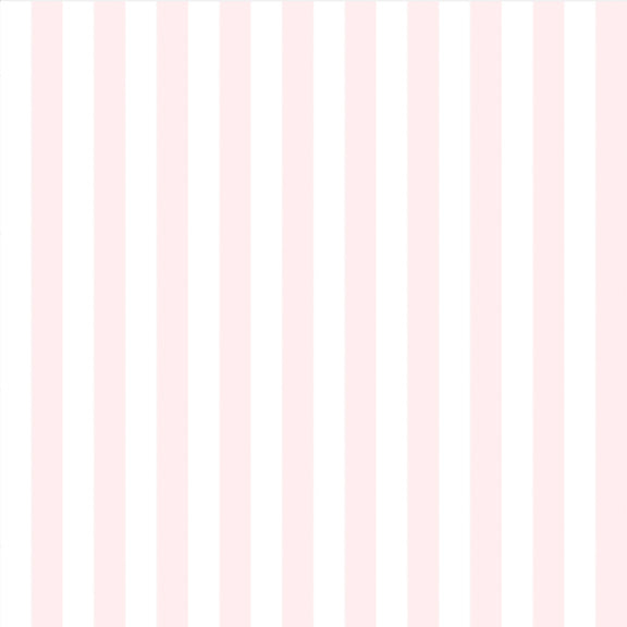 """The Perfect Stripe"" Wallpaper in Light Pink"