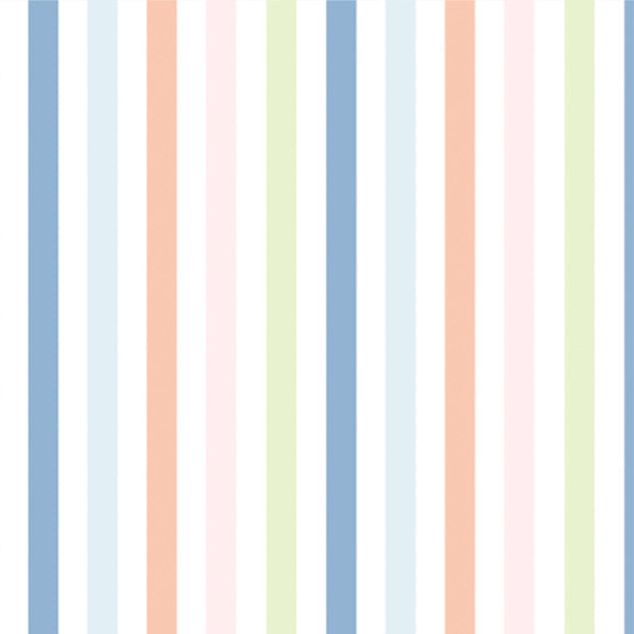 """The Perfect Stripe"" Wallpaper in ""Seaside"""