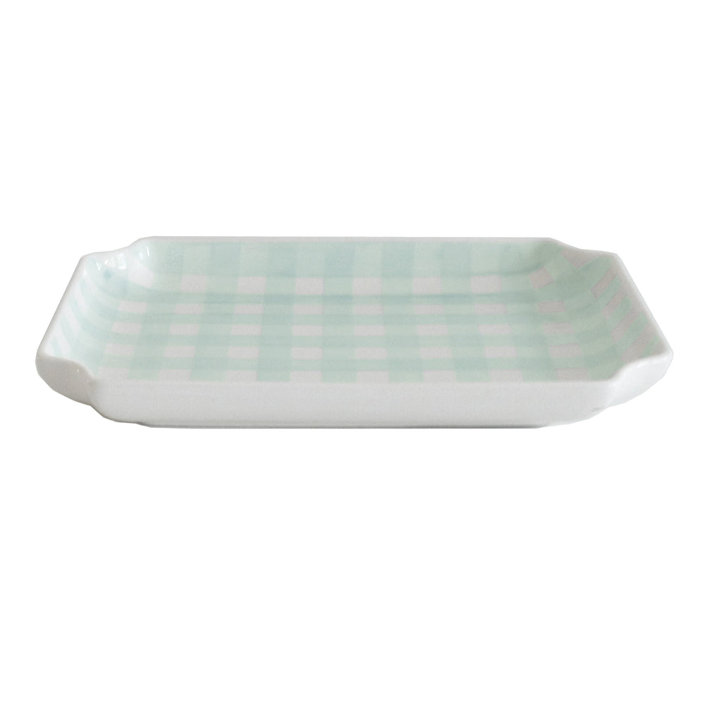 Gingham Trays