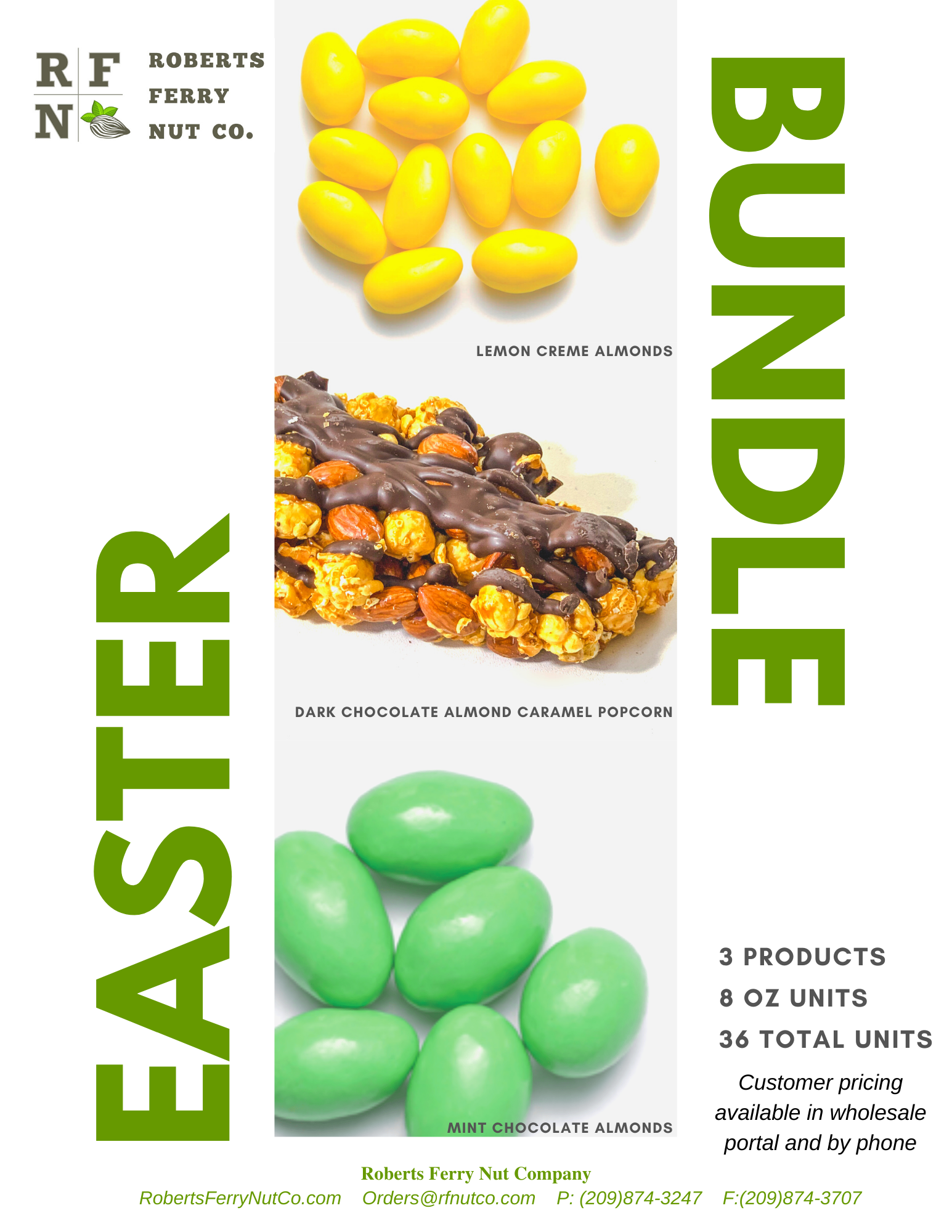 Wholesale Easter Bundle Available from Roberts Ferry Nut Co.