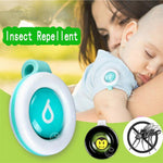Mosquito Repellent Button Safe for Infants Baby Kids Buckle Indoor Outdoor Anti-mosquito Repellent