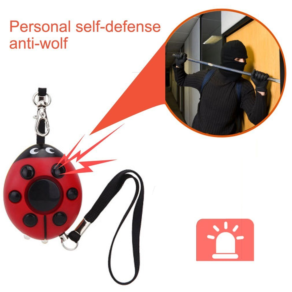 Self Defense Alarm Security Mini Keychain Emergency Girl Anti Attack Durable Voice Alarm