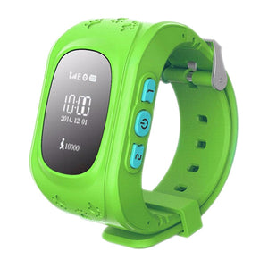 3G GPS Kid Tracker Smart Wrist Watch SOS Two-way Conversation Alerts 10 Languages 2G RAM