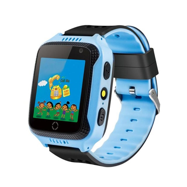 3G Kids Touch Screen GPS Watch Phone with Camera Monitoring SOS Calling Calender Alarm Clock