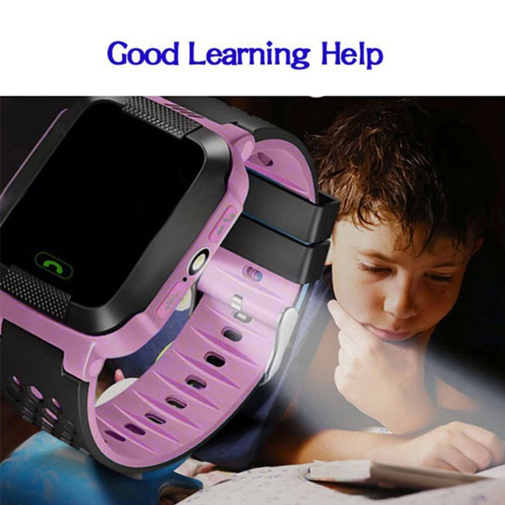 4G GPS Kids Smart Watch With Camera Flashlight SOS Call Location Device Tracker for Kid Safety