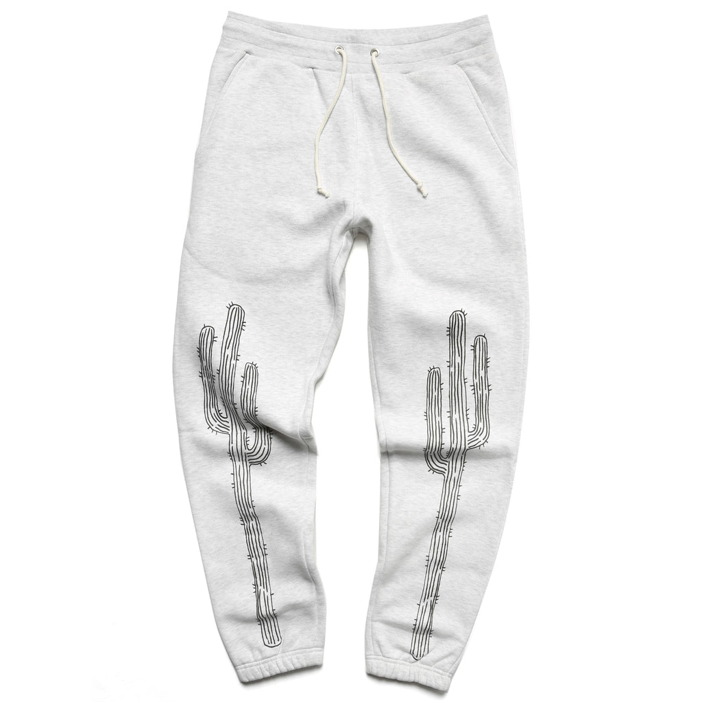 Plant Museum Cactus Sweatpants - Grey