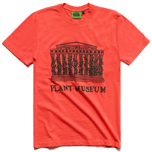Plant Museum Logo Tee - Bright Orange