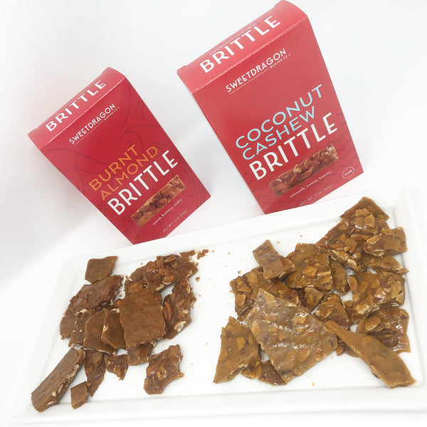 Brittle ~ Coconut Cashew / Burnt Almond