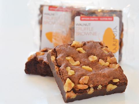 Walnut Truffle Brownie - Gluten-Free