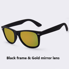 Load image into Gallery viewer, Men Luxury Fashion Polarized Driving Mirrors Coating Points Black Frame Eyewear Sun Glasses