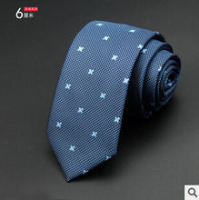 Load image into Gallery viewer, Men New Fashion Dot Neckties Slim Tie