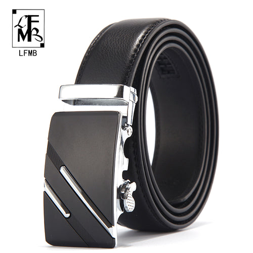Men Genuine Luxury Leather Belt