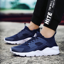 Load image into Gallery viewer, Men Fashion Breathable Running Shoes Sneakers Bounce Summer Outdoor Sport Shoes Professional Training Shoes