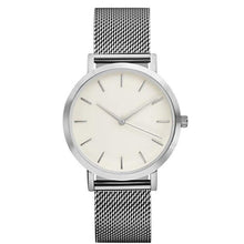Load image into Gallery viewer, Women Crystal Stainless Steel Quartz Analog Wrist Watch Bracelet