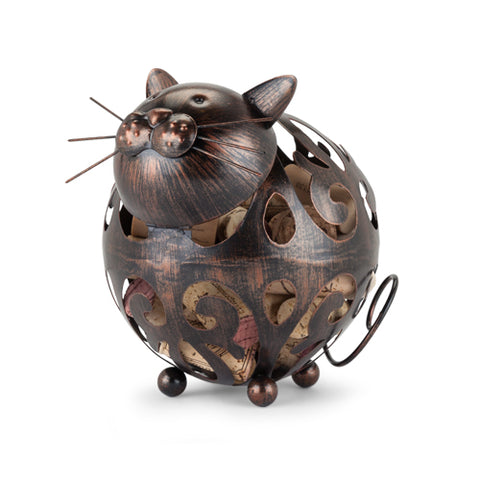 Whiskers™ Cat Cork Holder by True