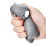 12cm Cute Lazy Sleeping Cat stress Relief toy scented