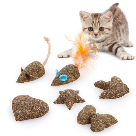 Pet Toy Cat Catnip Toys Fake Mice Clear Your Mouth