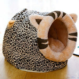 Warm Cat Cave Bed House For Small Dog Cats