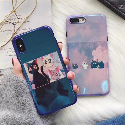 Sailor Moon Luna Cat iPhone Case