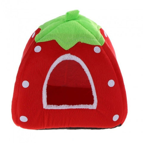 Soft Strawberry Cat House