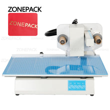 ZONEPACK Hot Stamping Machine Digital Sheet Printer Plateless Hot Foil Printer Plastic Leather Notebook Film Paper Without Stamp