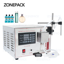 ZONEPACK GZ-YG1 Automatic Magnetic Pump Filling Machine ethanol Perfume Alcohol Hydrogen Peroxide Juice Essential Oil Liquid