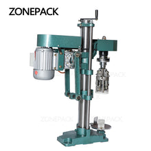 ZONEPACK ROPP Cap Crimping Machine Soybean Sauce Wine Soda Water Bottle Pilfer Proof Capping Machine Food Packing Machine