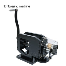 ZONEPACK Leather Stamping Machine Cold Pressing Machine Embossing Repeating Pattern For Leather Belt Guitar Straps Logo Embosser