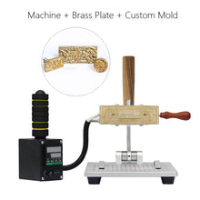 ZONEPACK WT-90ZM Tabletop Logo Pattern Letter Bronzing Machine Heat Press Machine Manual Leather Plastic Stamping Machine