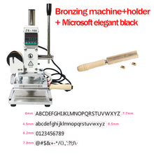 ZONEPACK ZS-100B Dual Use Hot Foil Stamping Machine Manual Bronzing Machine For Pvc Card Leather Pencils Paper Stamping Machine