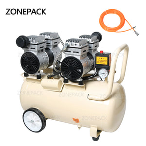 ZONEPACK Portable Industrial Factory Silent Air Compressor Machine Piston Type And New Condition Air Compressor Machine