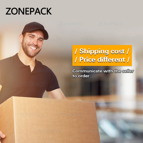 ZONEPACK Shipping Cost or Price different